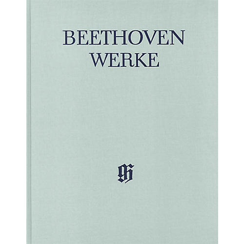 G. Henle Verlag String Quartets, Op. 59, 74, 95 Henle Complete Hardcover by Beethoven Edited by Paul Mies