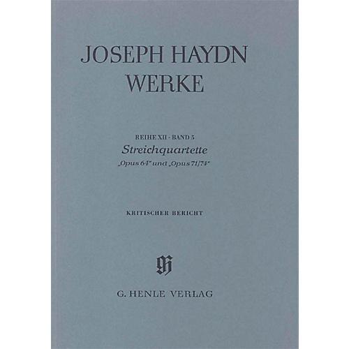 G. Henle Verlag String Quartets, Op. 64 and Op. 71-74 Henle Edition Series Hardcover