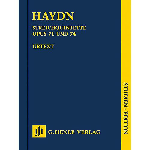 G. Henle Verlag String Quartets, Vol. IX, Opus 71 and 74 Henle Study Scores by Haydn Edited by Saslav, Feder