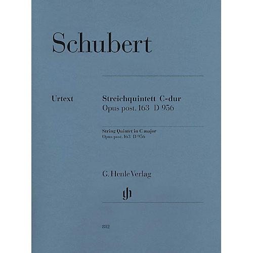 G. Henle Verlag String Quintet C Major Op. Posth. 163 D 956 Henle Music Folios Series Softcover by Franz Schubert