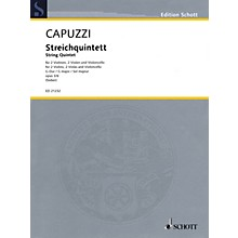 Schott String Quintet in G Major, Op. 3, No. 6 String Ensemble Series Softcover Composed by Antonio Capuzzi