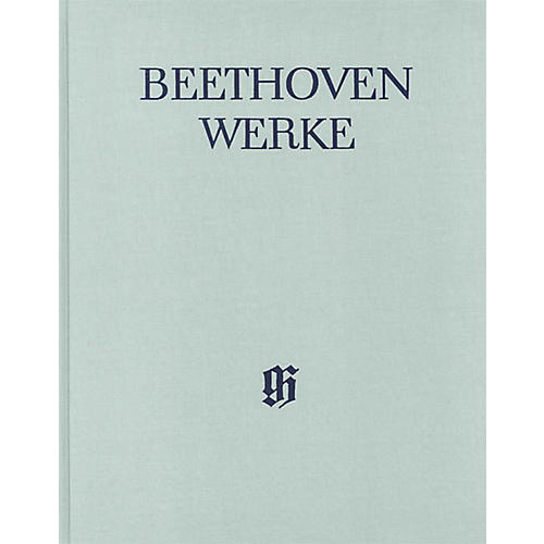 G. Henle Verlag String Trios and String Duo Henle Edition Hardcover by Beethoven Edited by Emil Platen