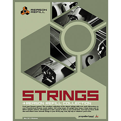 Propellerhead Strings ReFills Rex Sample Library for Reason