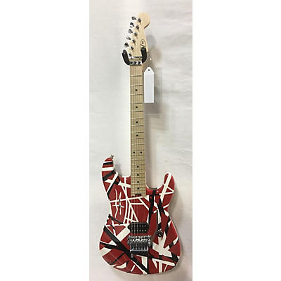EVH Striped Solid Body Electric Guitar