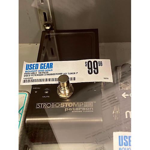 Strobostomp HD Tuner Pedal