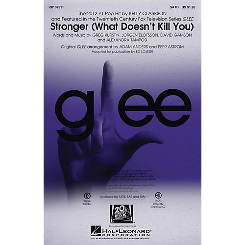 Hal Leonard Stronger (What Doesn't Kill You) (SATB) SATB by Kelly Clarkson