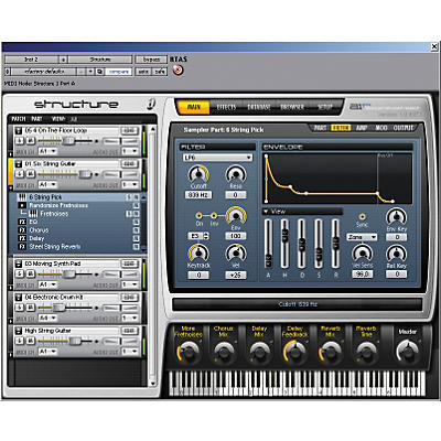 Digidesign Structure LE Sampler Virtual Instrument