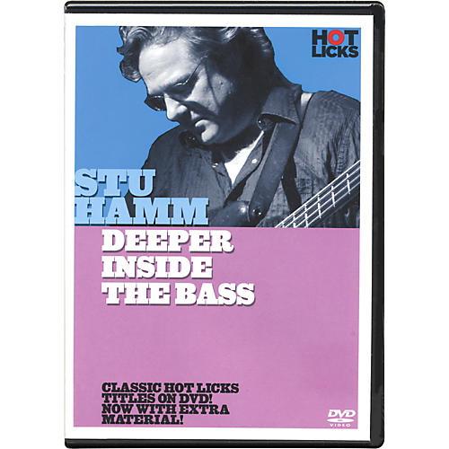 Hot Licks Stu Hamm Deeper Inside the Bass DVD