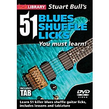 Licklibrary Stuart Bull's 51 Blues Shuffle Licks You Must Learn! Lick Library Series DVD Performed by Stuart Bull