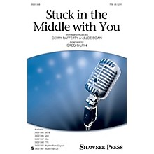 Shawnee Press Stuck in the Middle with You TTB arranged by Greg Gilpin
