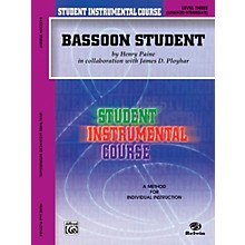 Alfred Student Instrumental Course Bassoon Student Level 3 Book