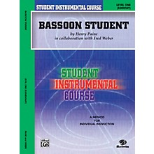 Alfred Student Instrumental Course Bassoon Student Level I