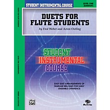 Alfred Student Instrumental Course Duets for Flute Students Level 1 Book