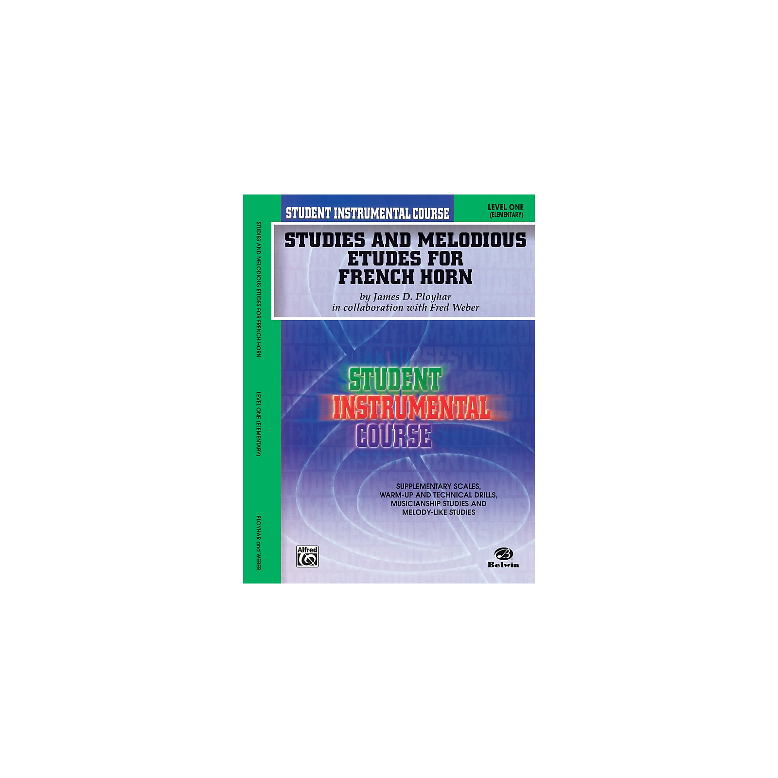 Alfred Student Instrumental Course Studies and Melodious Etudes for French Horn Level I