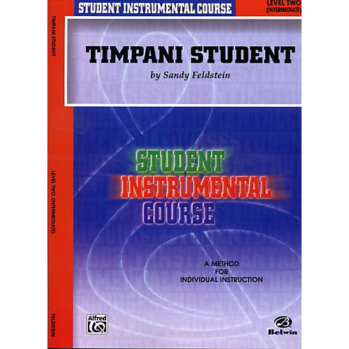 Alfred Student Instrumental Course Timpani Student Level 2 Book