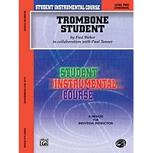 Alfred Student Instrumental Course Trombone Student Level 2 Book