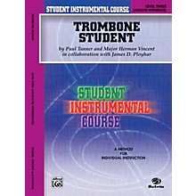 Alfred Student Instrumental Course Trombone Student Level 3 Book