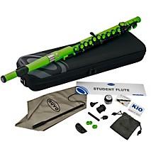 Student Plastic Flute Kit Laser Green