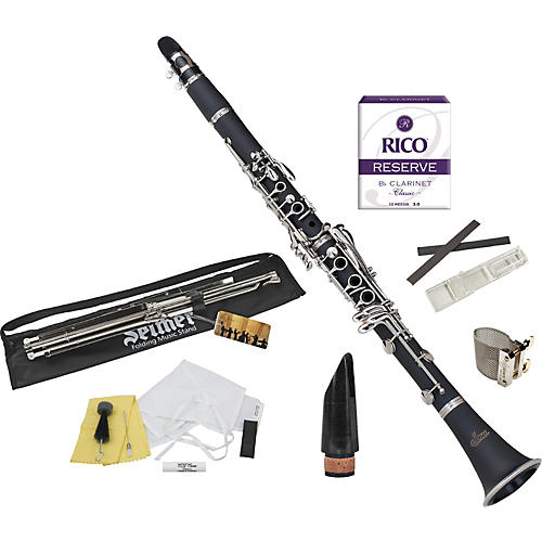 Allora Student Series Bb Clarinet Model AACL-336 with Upgraded Accessories
