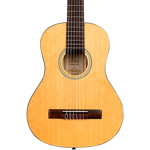 Ortega Student Series RST5-1/2 - 1/2 Size Acoustic Classical Guitar Gloss Natural 0.5