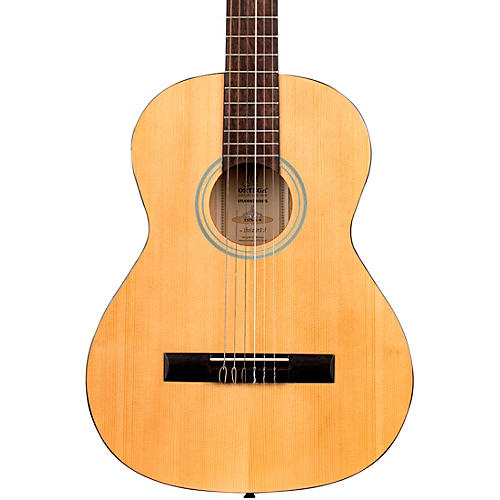 Ortega Student Series RST5-3/4 - 3/4 Size Acoustic Classical Guitar Gloss Natural 0.75