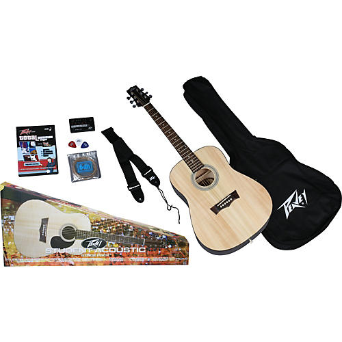 Peavey Student Size Acoustic Guitar Pack