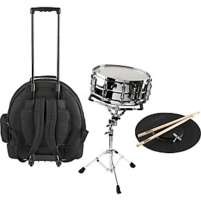 yamaha student snare drum kit with rolling case musician 39 s friend. Black Bedroom Furniture Sets. Home Design Ideas