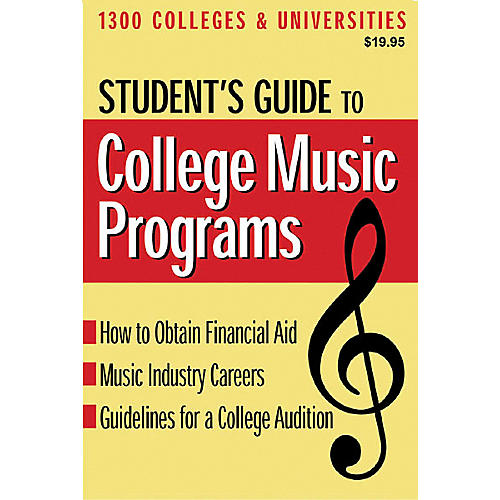 Hal Leonard Student's Guide to College Music Programs Book