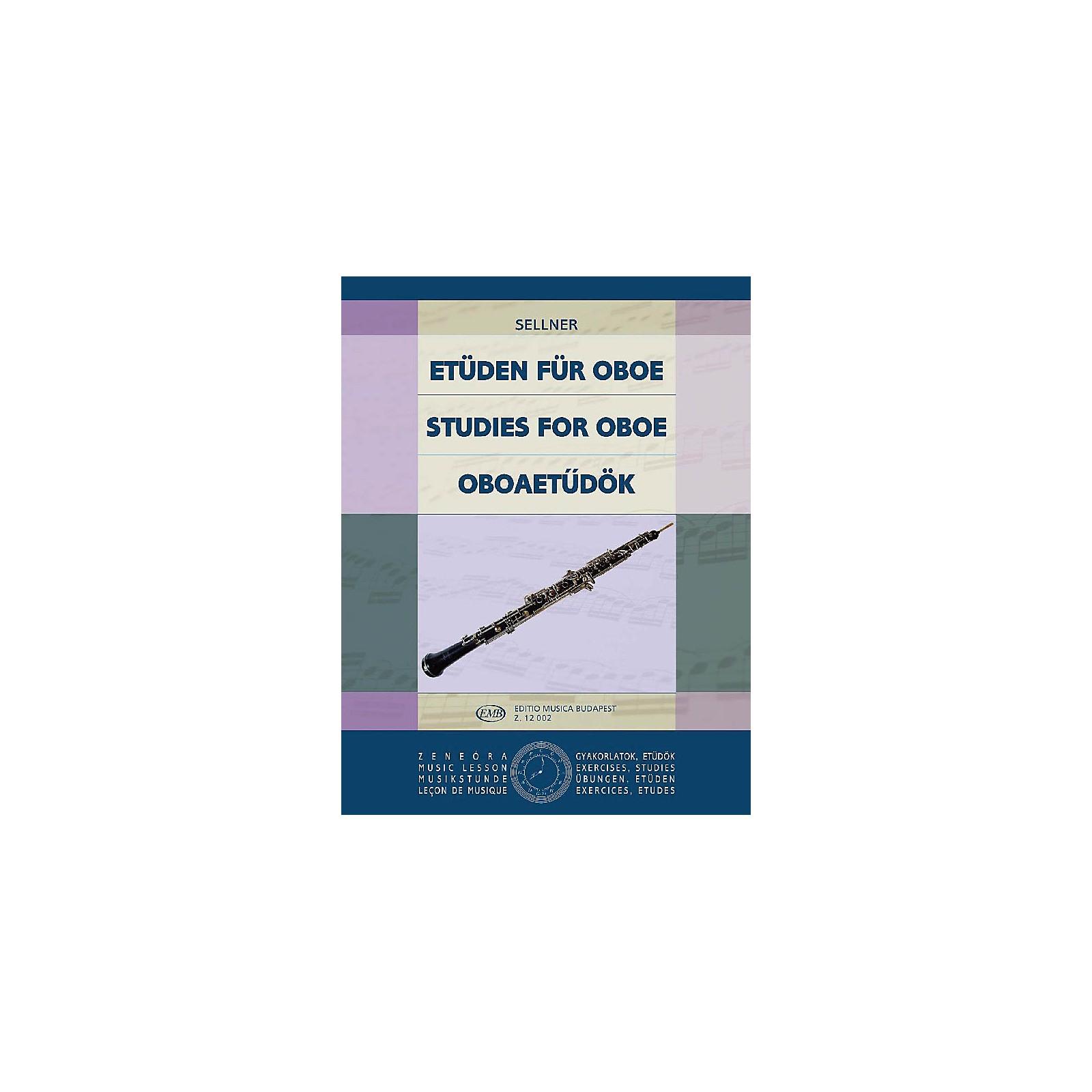 Editio Musica Budapest Studies (for Oboe) EMB Series by Joseph Sellner