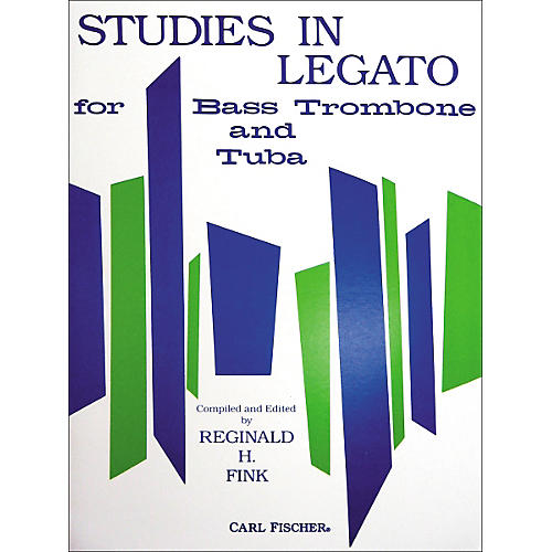 Carl Fischer Studies in Legato for Bass Trombone and Tuba