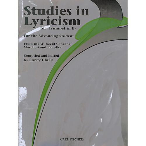Carl Fischer Studies in Lyricism for Trumpet in Bb