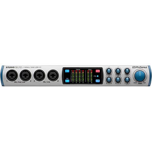 PreSonus Studio 1810 (18x8 USB 2.0 24-bit/192 kHz Audio Interface)