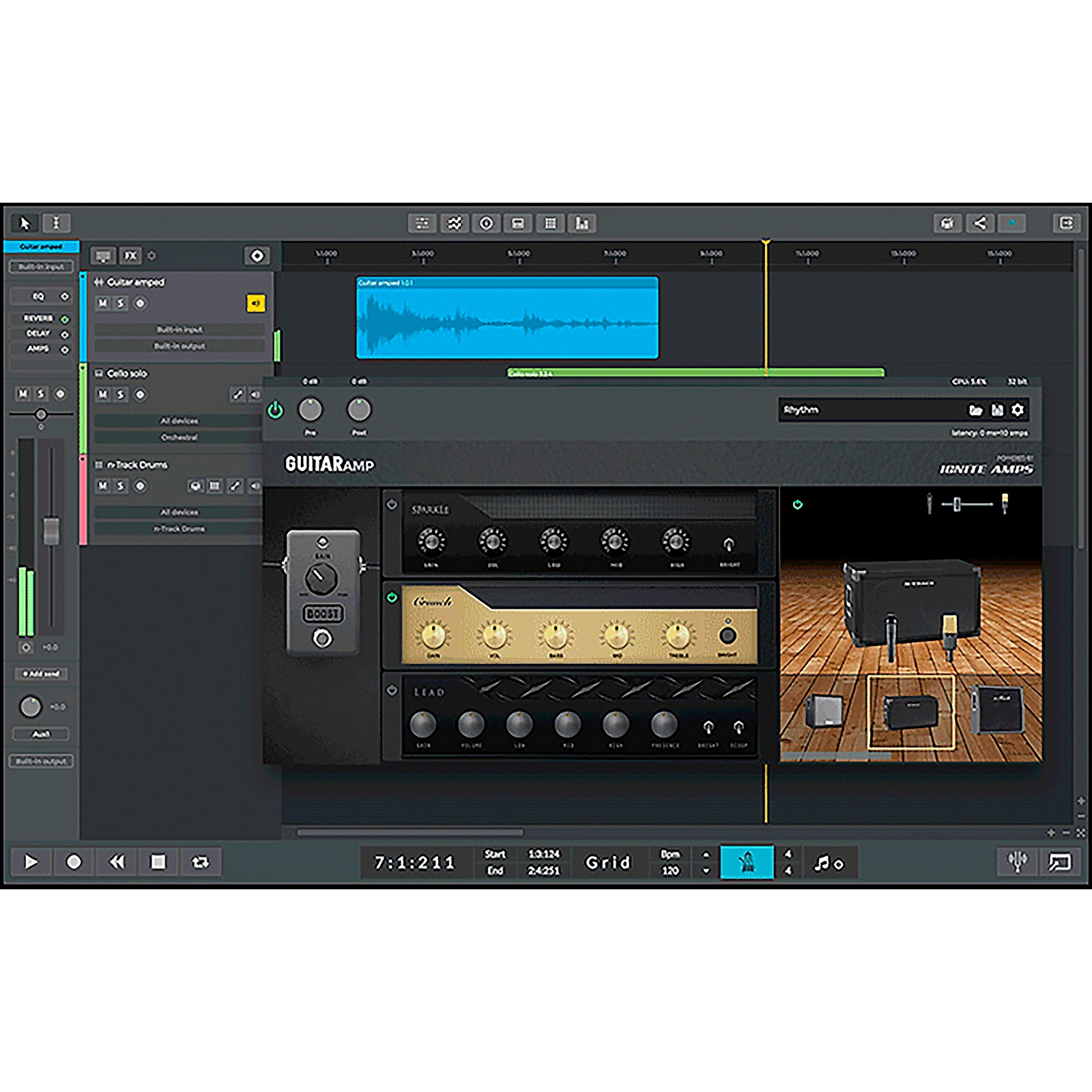 n-Track Studio 9 Extended DAW (Download)