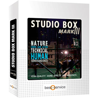 Best Service Studio Box Mark III