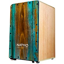 Nativo Percussion Studio Cajon with Syrah Face and Dual Adjustable Snares