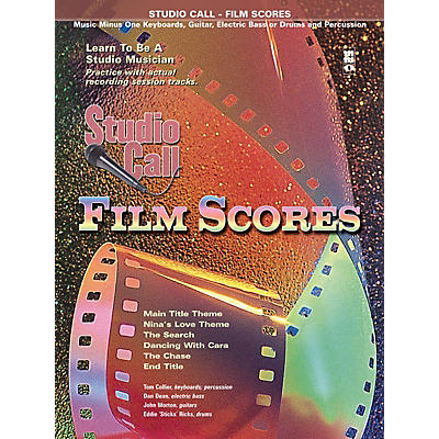 Music Minus One Studio Call: Film Scores - Electric Bass Music Minus One Series Softcover with CD