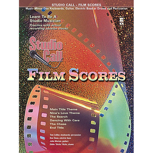 Music Minus One Studio Call: Film Scores - Piano (Learn to Be a Studio Musician) Music Minus One Series Softcover with CD