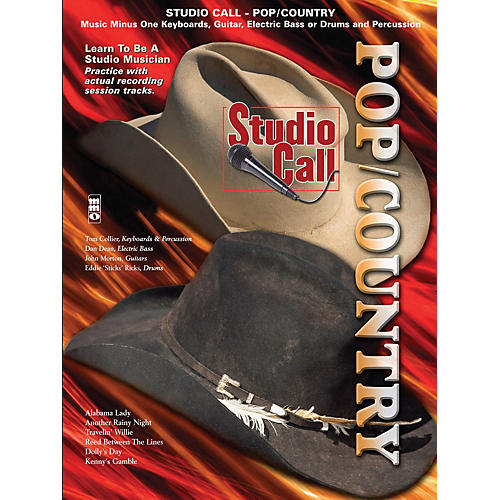 Music Minus One Studio Call: Pop/Country Minus Bass Music Minus One Series Softcover with CD