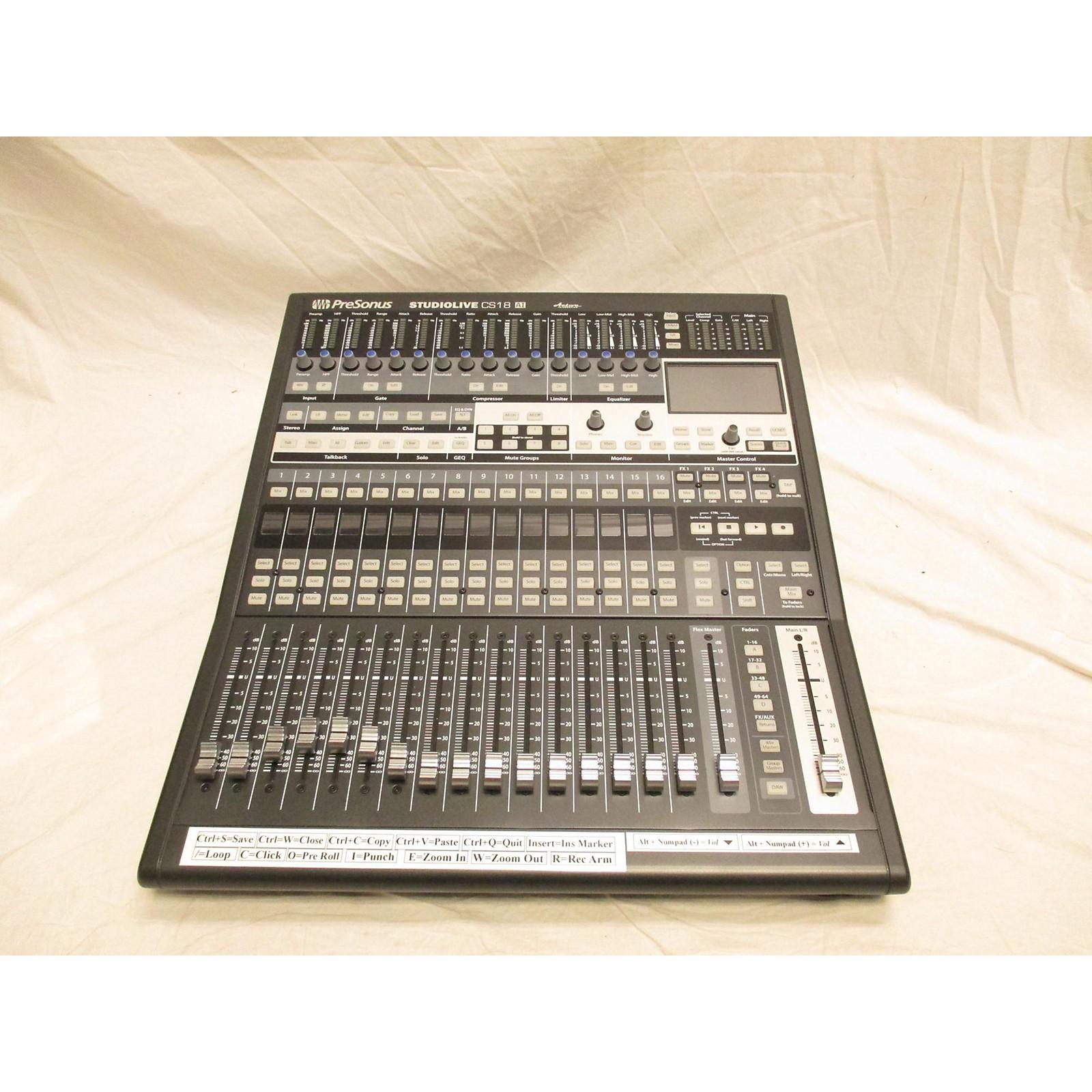 Presonus Studio Live CS18AI Digital Mixer