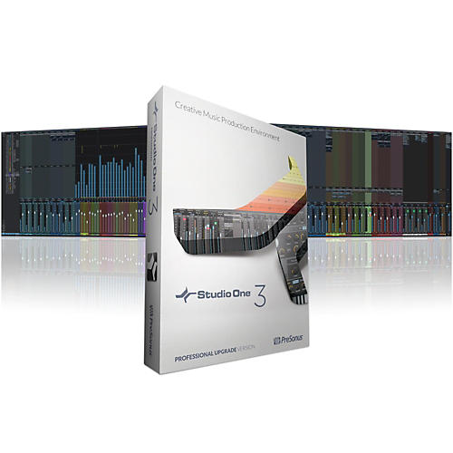 PreSonus Studio One 3.2 Professional Upgrade from Version 1 or 2 Software Download