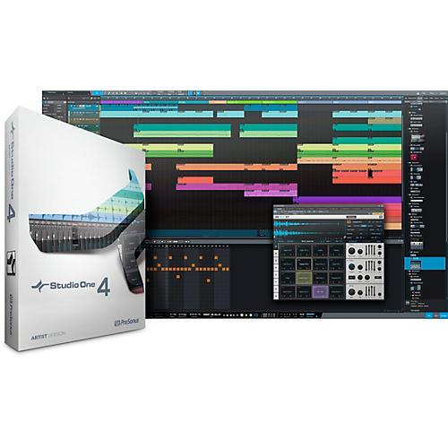 PreSonus Studio One 4 Artist Crossgrade from Notion Software Download