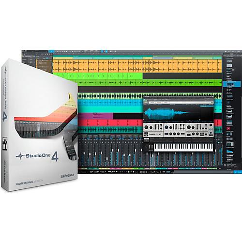 PreSonus Studio One 4 Professional Crossgrade Software Download