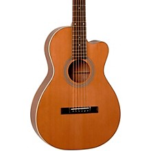 Open Box Recording King Studio Series 12 Fret Cutaway ThermoCure Top 0 Acoustic Guitar