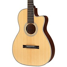 Open Box Recording King Studio Series 12 Fret OO Acoustic/Electric Guitar with Cutaway