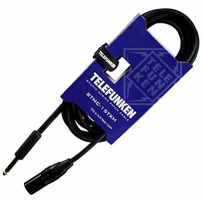 Telefunken Studio Series TRS - XLR Male Cable