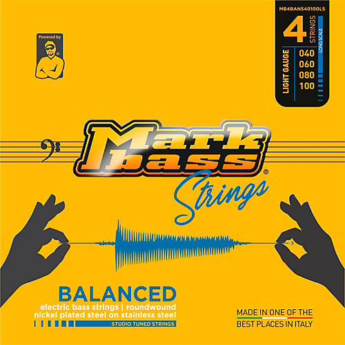 Markbass Studio Tuned Series Electric Bass Nickel on Stainless Strings (40 - 100)
