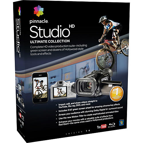 Pinnacle Studio Ultimate Collection 14