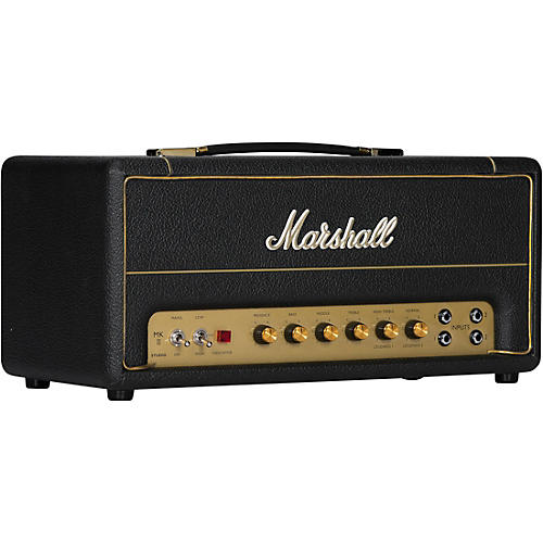 Marshall Studio Vintage 20W Tube Guitar Amp Head Black and Gold