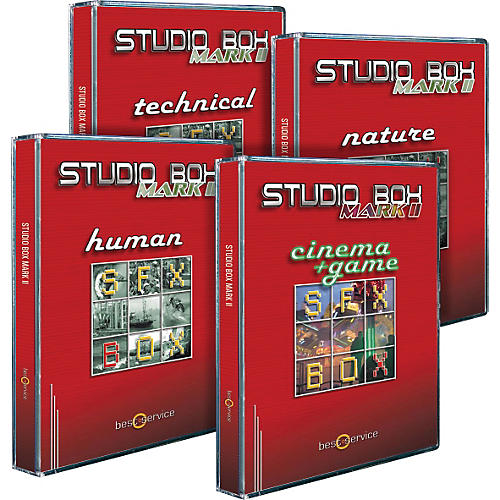 Best Service StudioBox Mark II DVD 1-4 Set