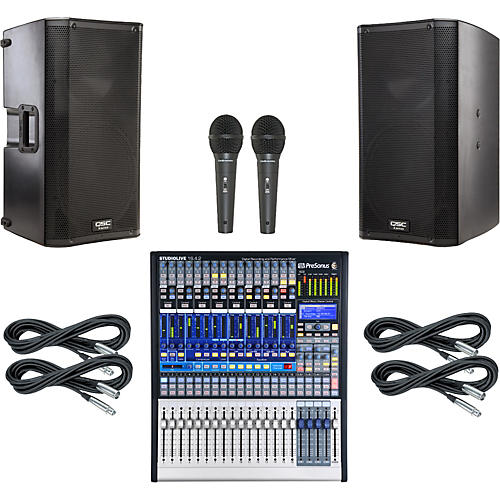 PreSonus StudioLive 16.4.2 PA Package with QSC K12 Speakers